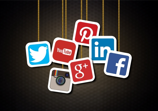 Main social media brands - Illustration