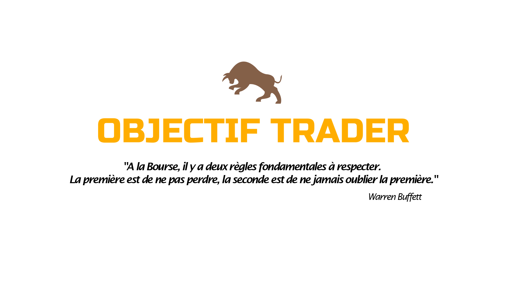 Objectif Trader - Le site